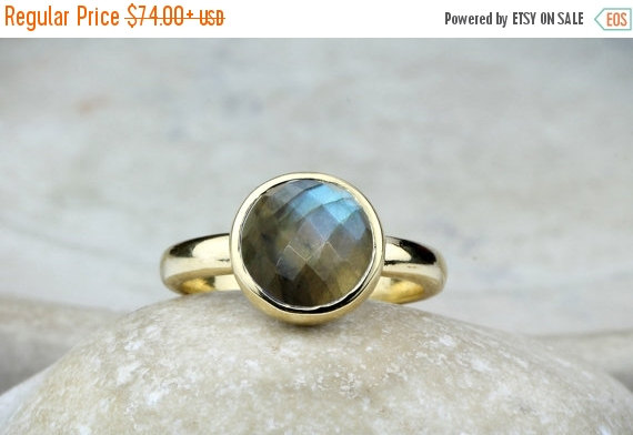 SALE OFF Labradorite Ring unique Rings gold Ring 14k Gold