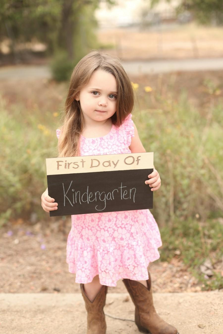 Свадьба - First Day of Last Day of Sign Chalkboard Back to School