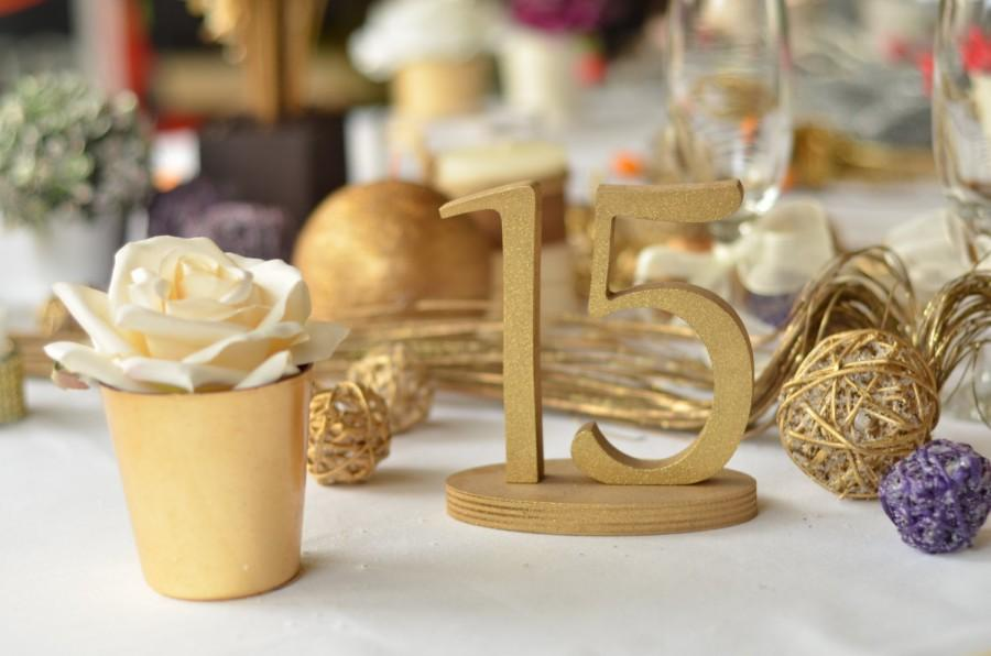 Mariage - Table Number-  Weddings / Decor - Table Numbers- Table Number  1 to 20 set