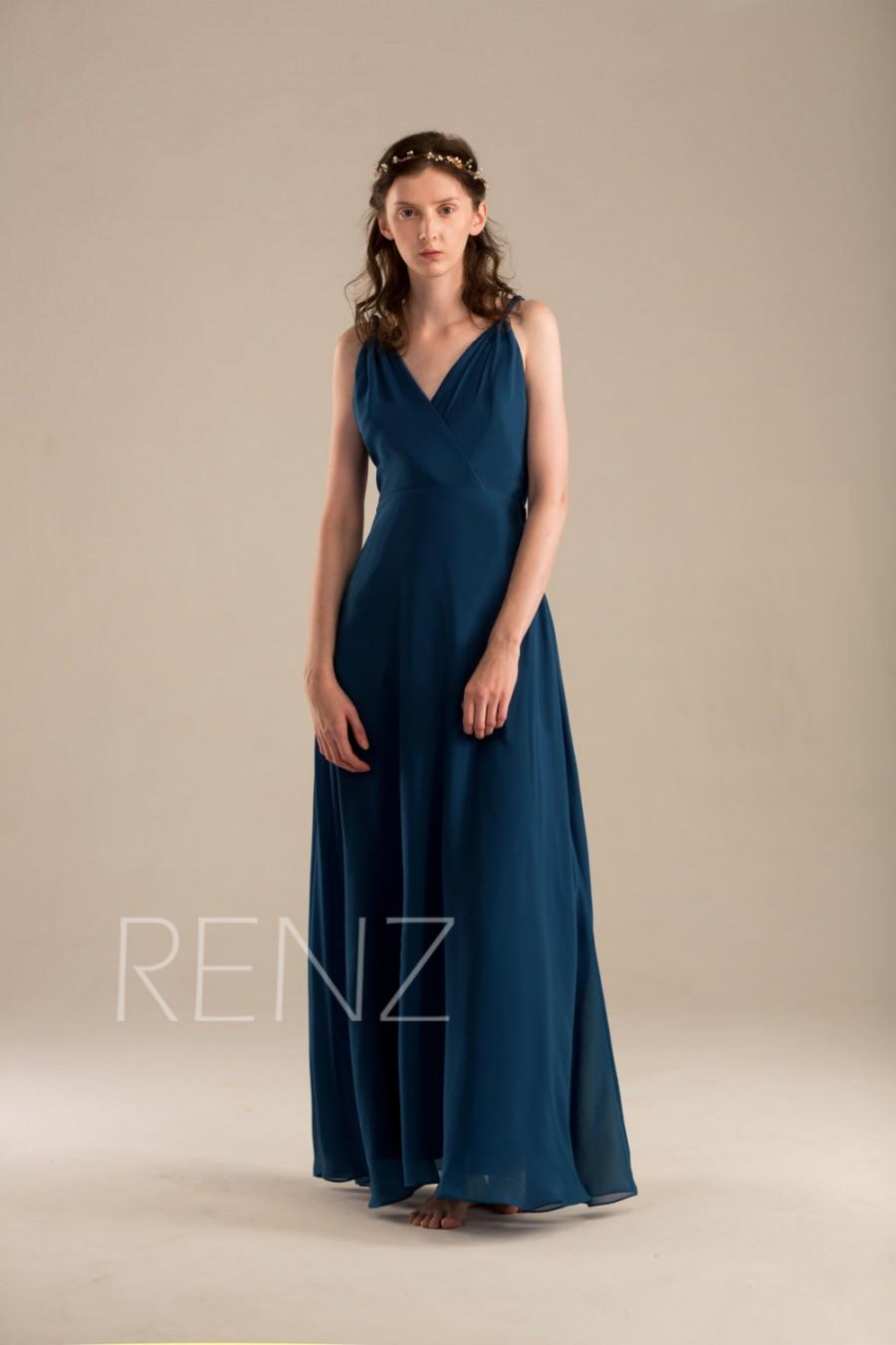 2015 long navy blue bridesmaid dress v neck maxi dress fitted 2015 long navy blue bridesmaid dress v neck maxi dress fitted evening dress open back formal dress prom dress floor length h051 ombrellifo Image collections