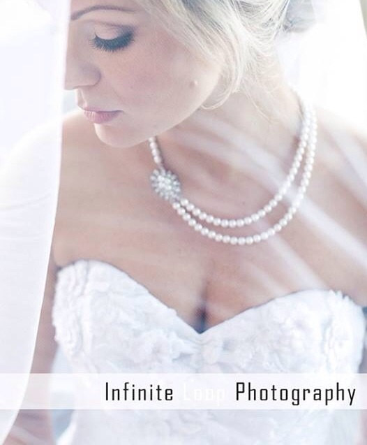 Свадьба - Wedding Jewelry Bridal pearl necklace rhinestone wedding jewelry, bridesmaid pearl necklace double strand necklace