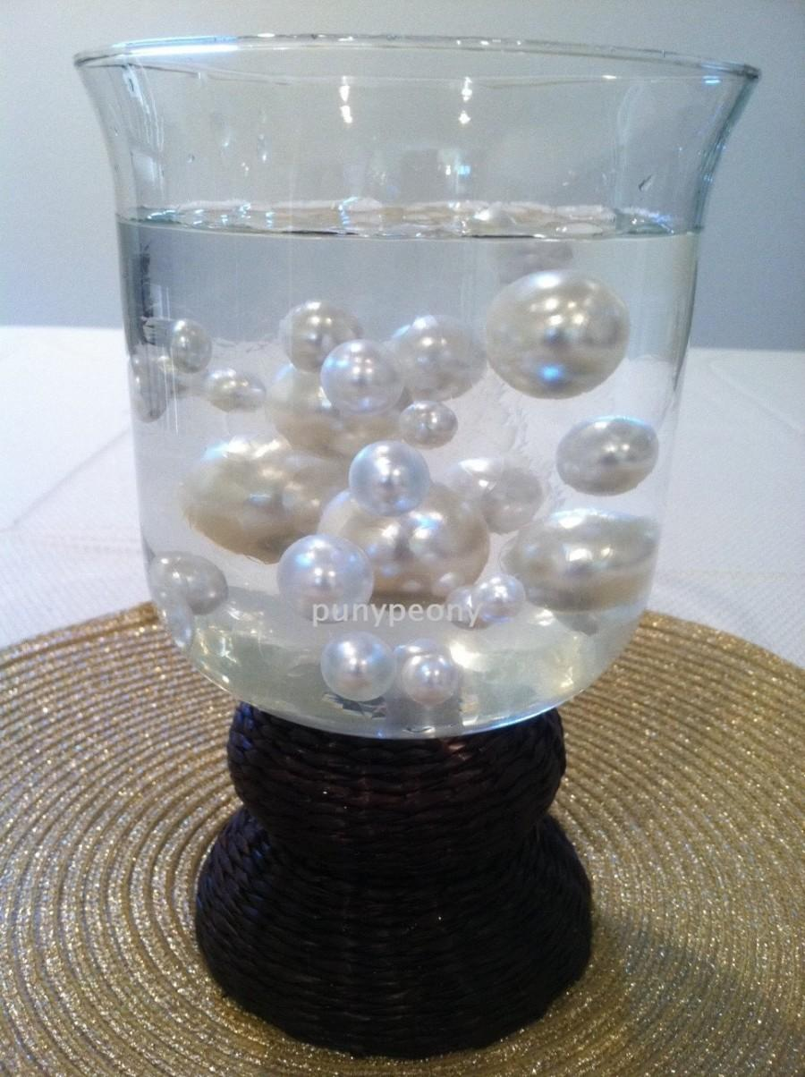 Mariage - Transparent Water Absorbing Gel Pearl Beads Used For Floating Pearls and floral arrangements Select from:(1000/3000/5000/10,000)