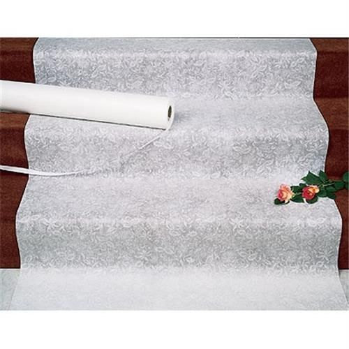 Sale Wedding Lace Fabric Aisle Runner With Non Slip Adhesive