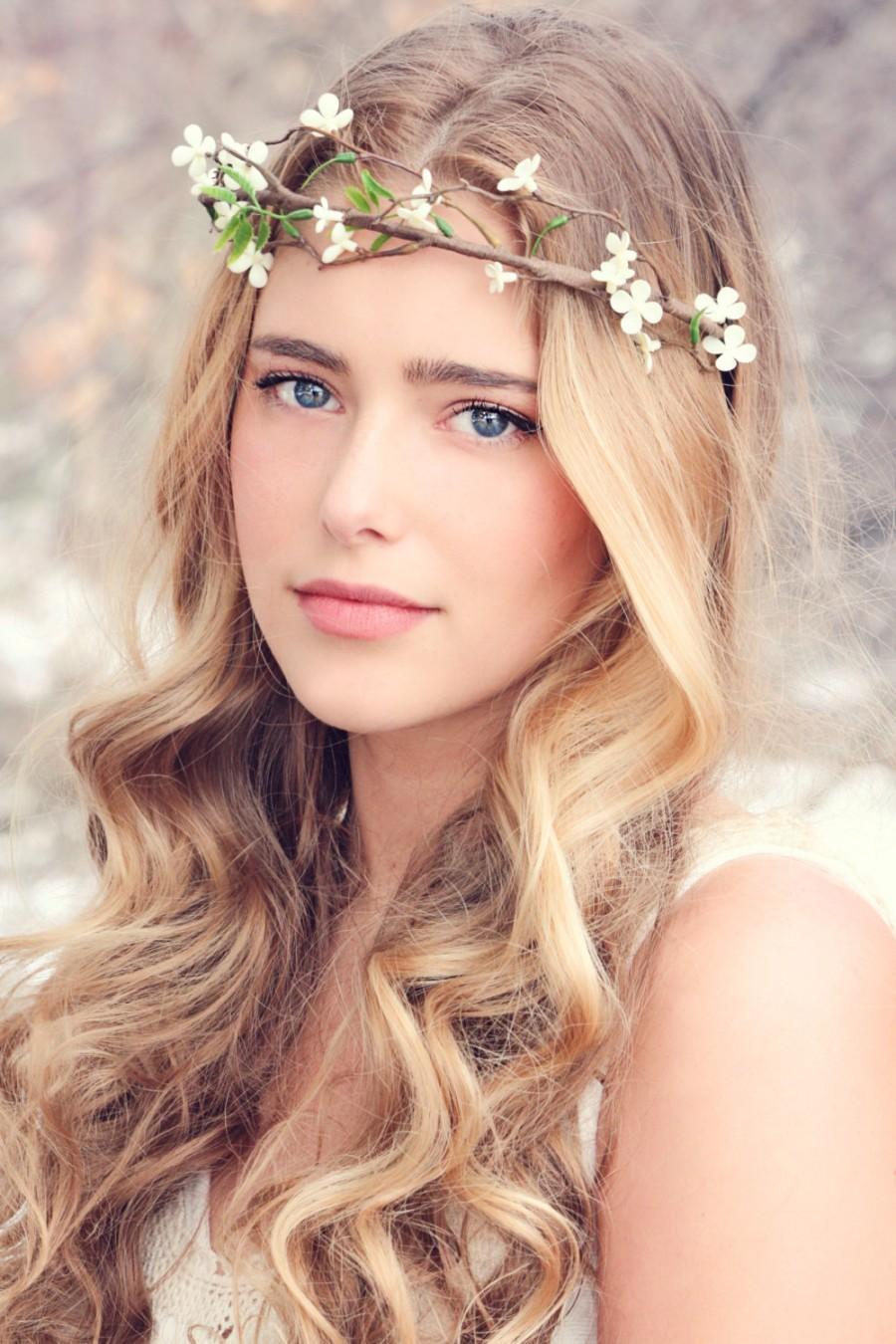 Flower Head Piece, Fall Wedding, Fall Flower, Bridal Hair ...