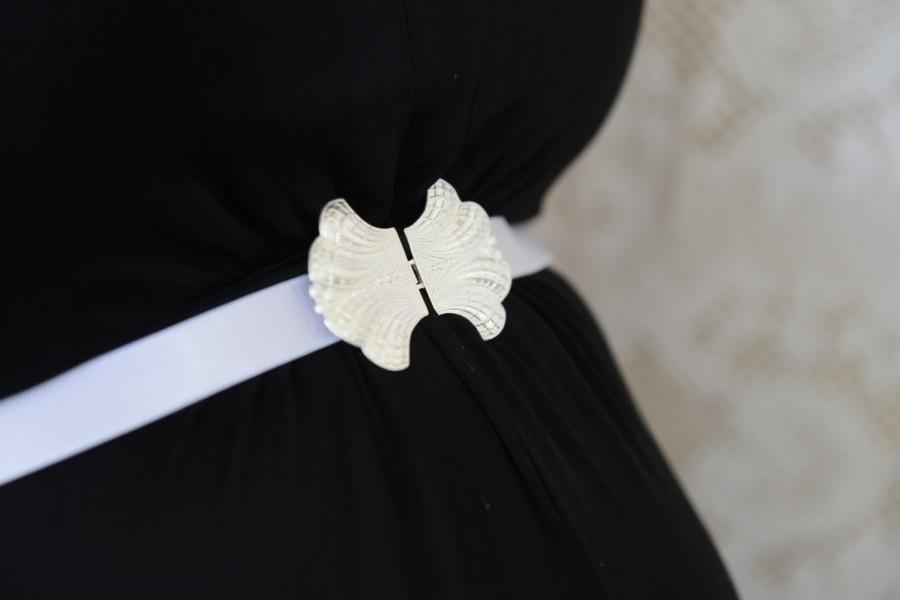 Mariage - Bridal Belt - Silver Belt - White Belt - Wedding Dress Belt - Bridal Belt - Skinny Belt - Wedding Gown Belt - Wedding Accessories - Ribbon
