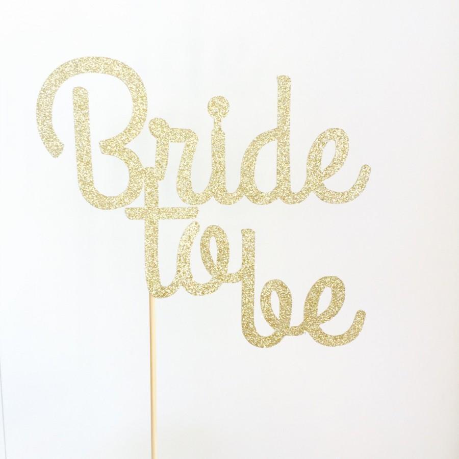 decor bride to be cake topper 2445305 weddbook
