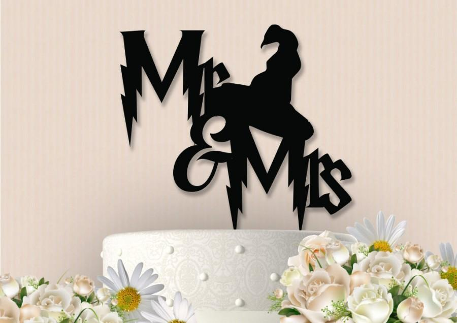 Mariage - Harry Potter Inspired Cake Topper