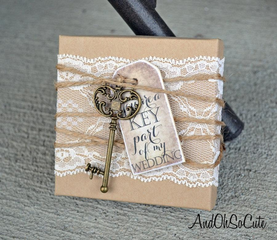 Bridesmaid box invitations key lace tag box will you be my bridesmaid box invitations key lace tag box will you be my bridesmaid invite cards rustic chic burlap vintage invites cards stopboris Choice Image
