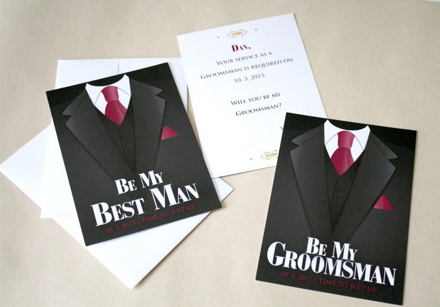 will you be my best man will you be my groomsman 2445410 weddbook. Black Bedroom Furniture Sets. Home Design Ideas