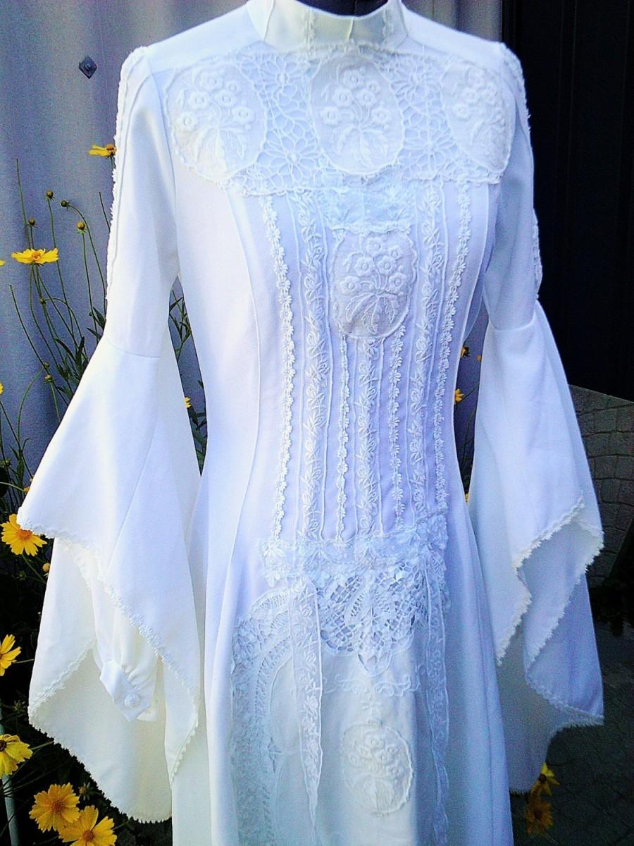 زفاف - boho wedding dress, medieval wedding dress, breathtaking dress, cosplay wedding dress, boho wedding , vintage wedding dress