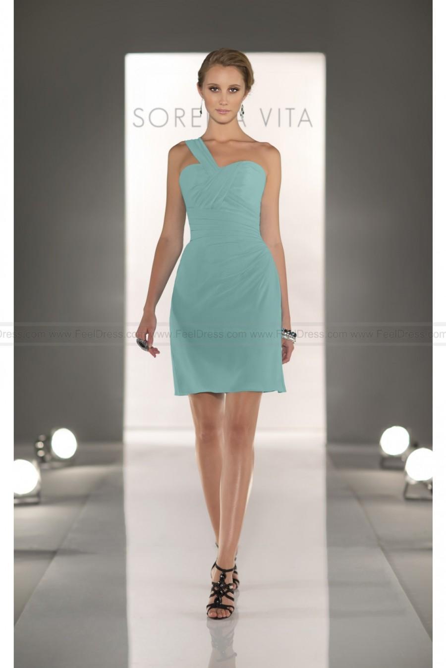Boda - Sorella Vita Teal Green Bridesmaid Dress Style 8280