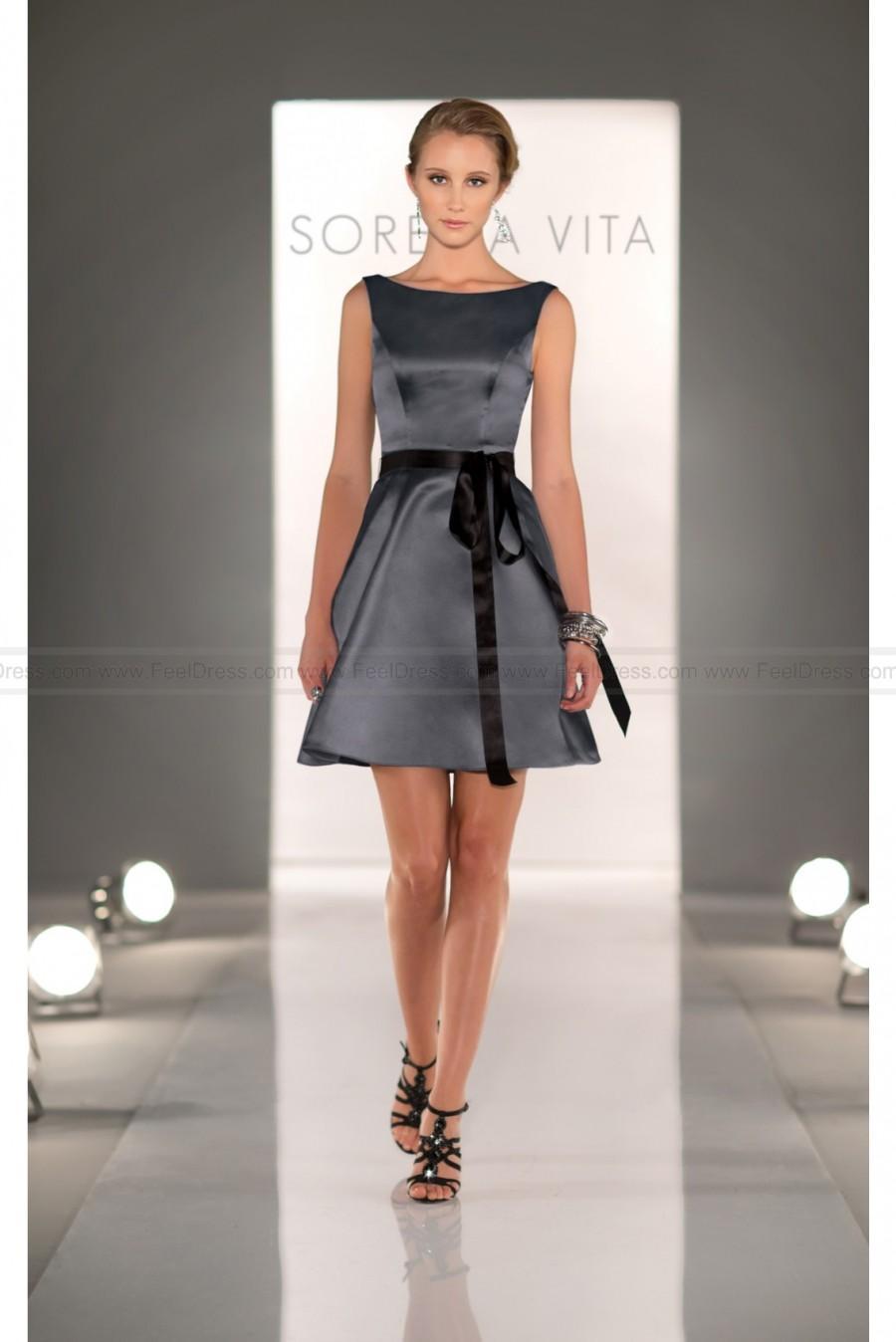 Sorella vita charcoal bridesmaid dress style 8279 2445614 weddbook sorella vita charcoal bridesmaid dress style 8279 ombrellifo Images