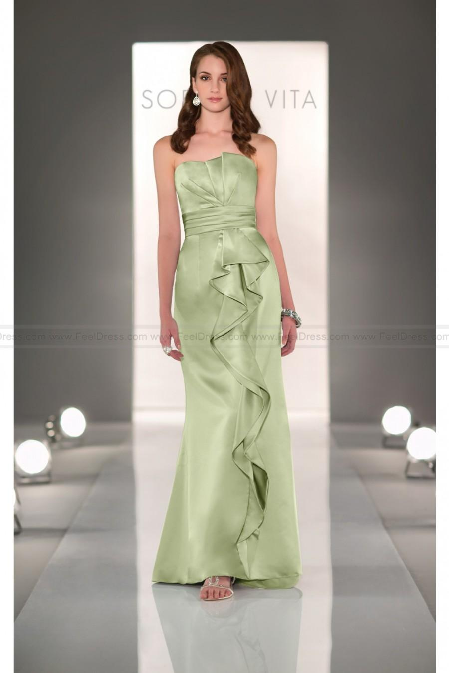 Mariage - Sorella Vita Sage Green Bridesmaid Dress Style 8275