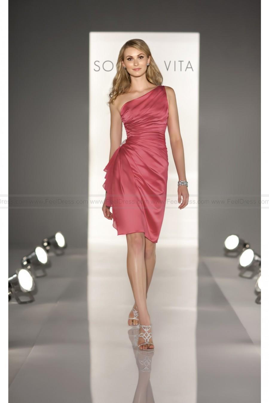Свадьба - Sorella Vita Red Bridesmaid Dress Style 8190