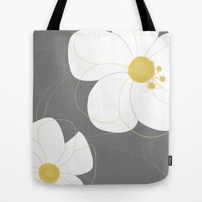 874e611edf Modern Flowers Tote Bag