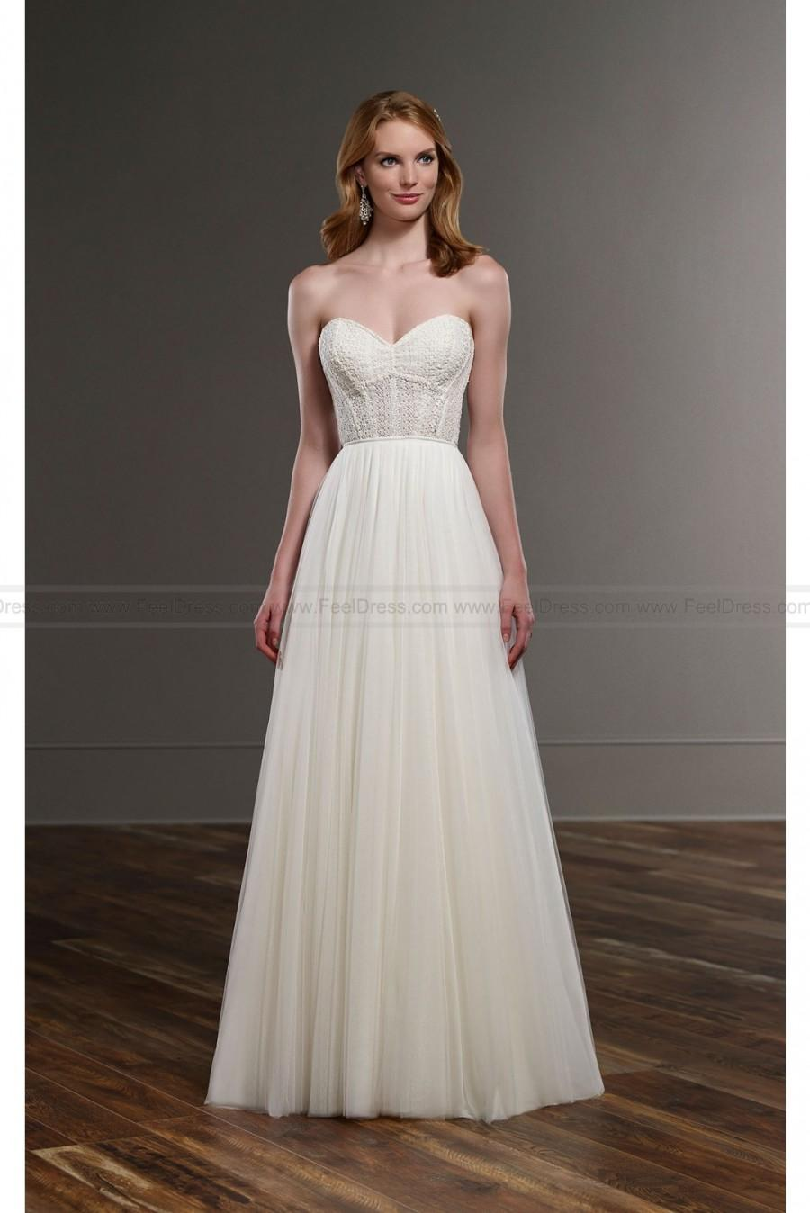 Mariage - Martina Liana Breezy Bridal Gown Separates Style CATE SCOUT