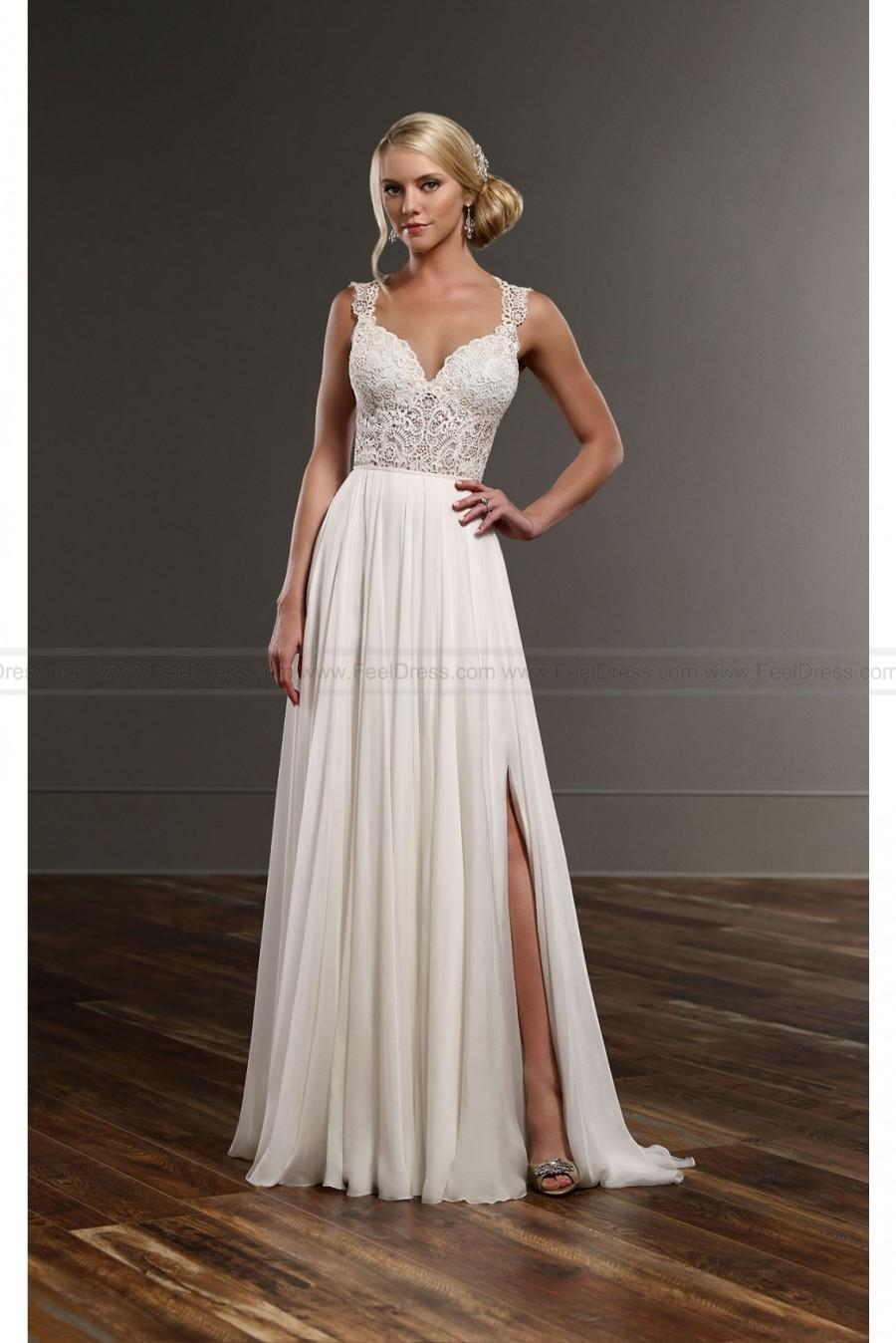 Martina Liana Sexy Separates Wedding Dress Style Blair Shae