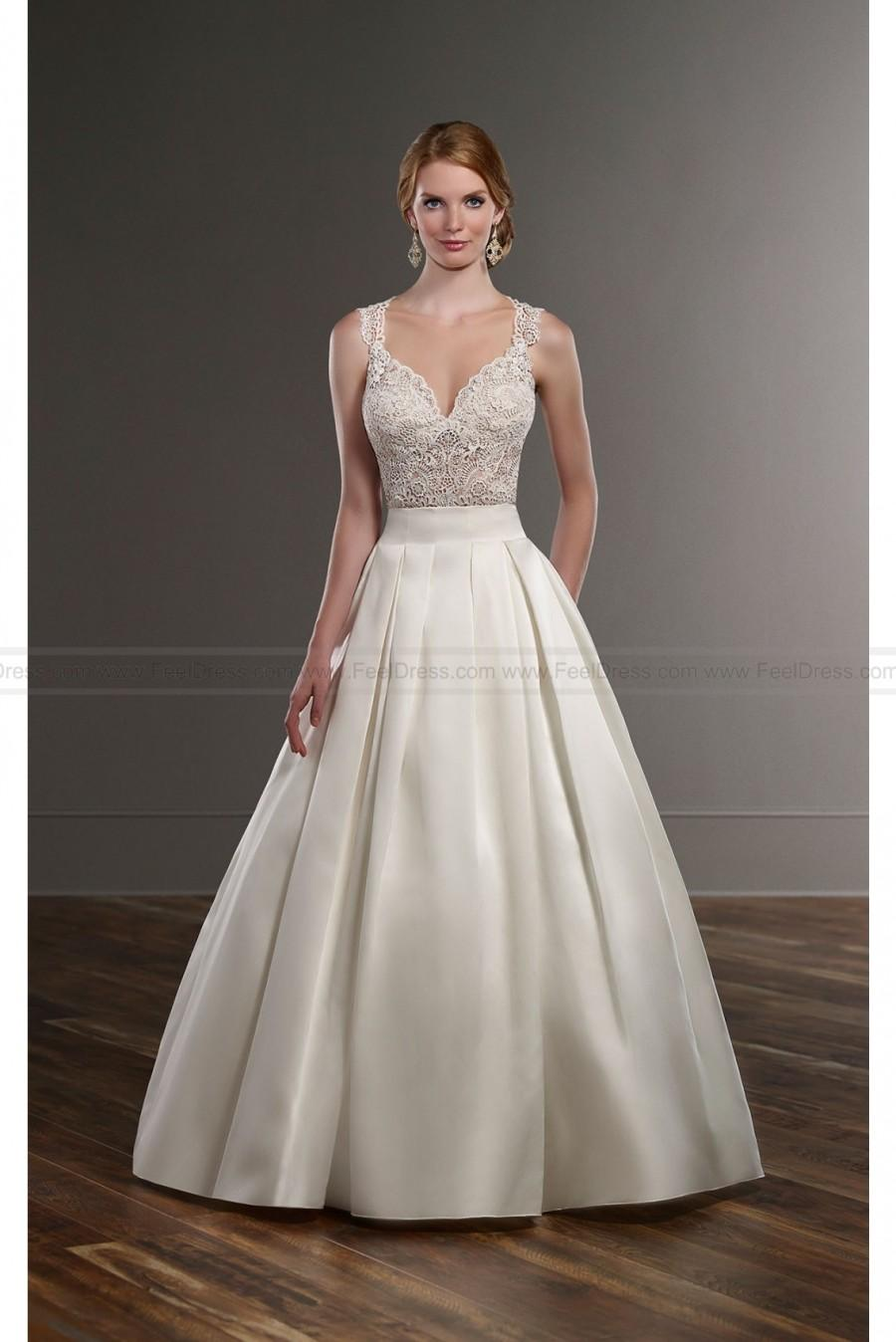 Martina Liana Traditional Separates Wedding Dress Style Blair Sachi
