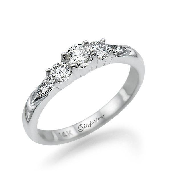 Свадьба - Antique Engagement Ring, Wedding Ring, Bridal jewelry, Diamond Engagement Ring, Woman Ring, Multistone Ring, Art Deco Ring, Band Ring