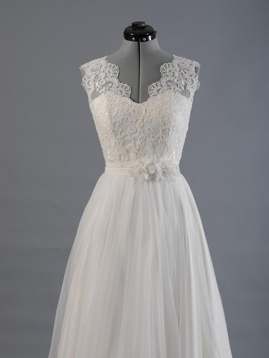 Lace wedding dress wedding dress bridal gown sleevelss for T back wedding dress