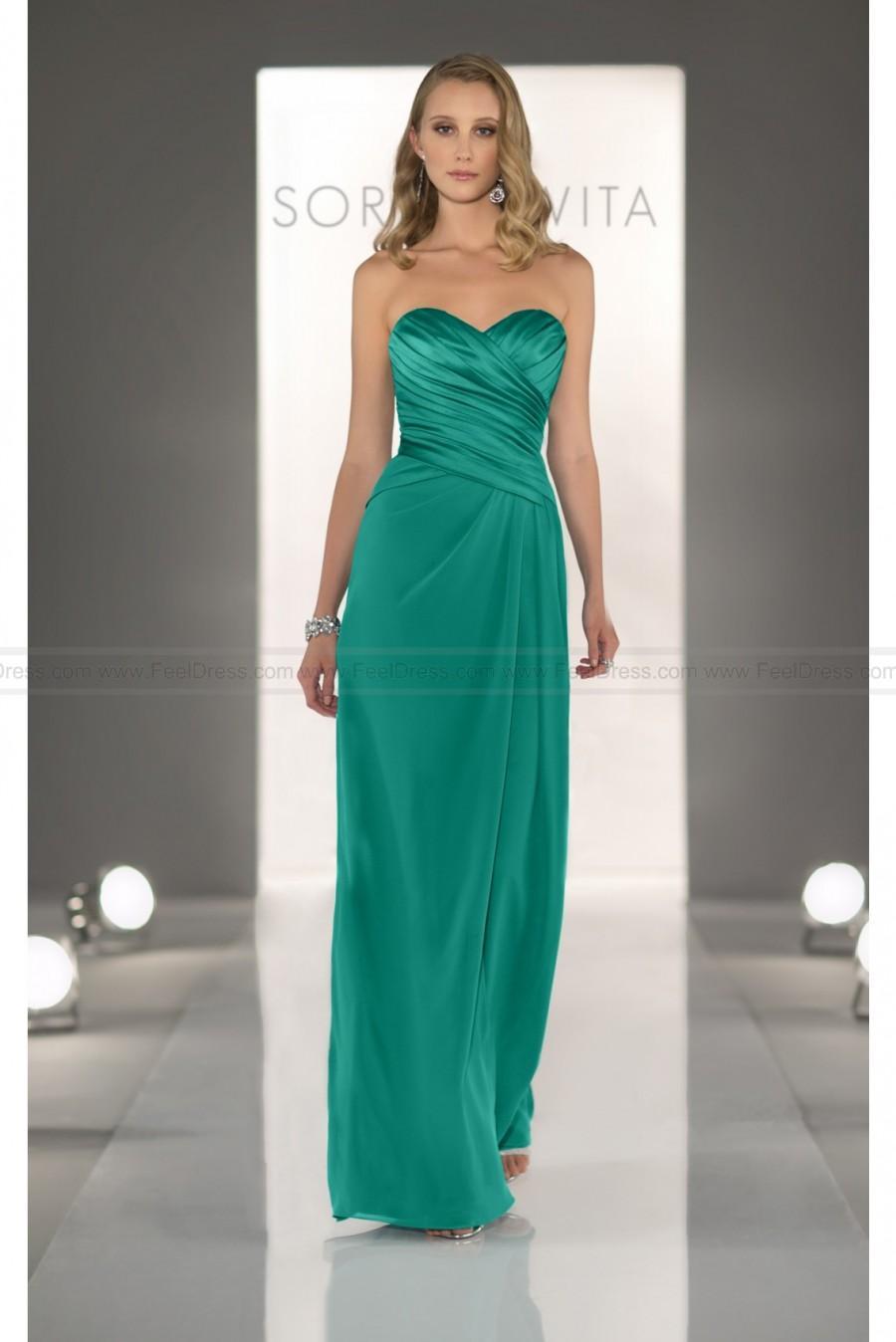Hochzeit - Sorella Vita Jade Bridesmaid Dress Style 8268