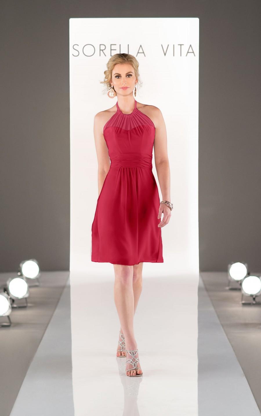 Wedding - Sorella Vita Chiffon Bridesmaid Dress Style 8647