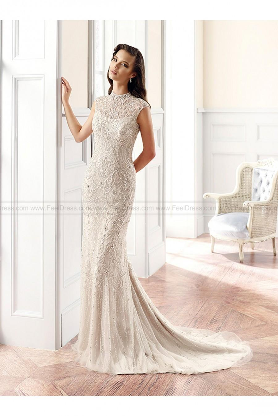 Mariage - Eddy K Couture 2015 Wedding Gowns Style CT143