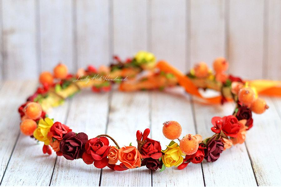 Autumn Flower Crown fa19eede39d