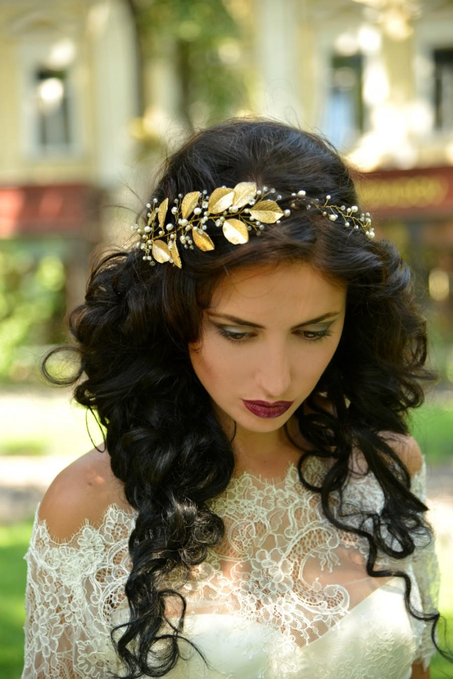 Mariage - Gold wedding crown