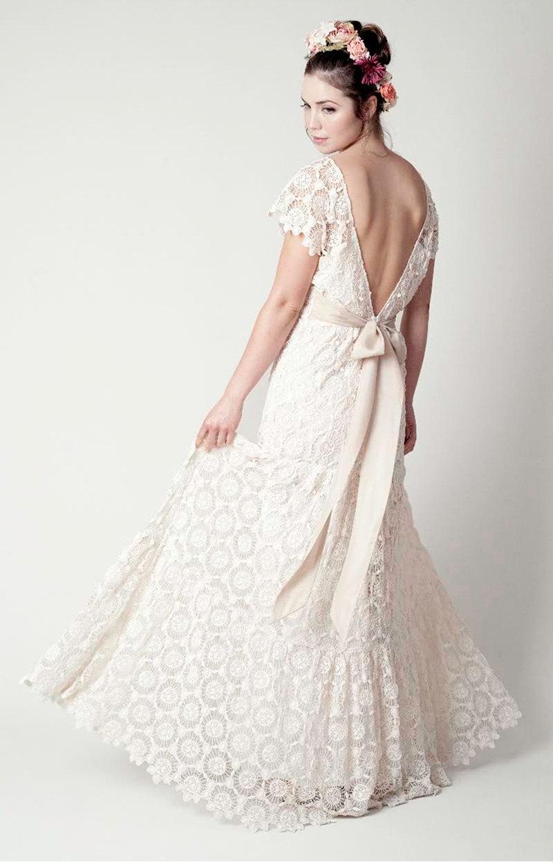 Wedding - Bohemian Wedding Anais Gown