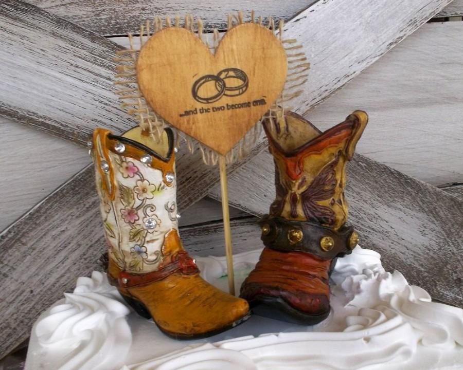 How To Make A Cowboy Boot Cake Topper