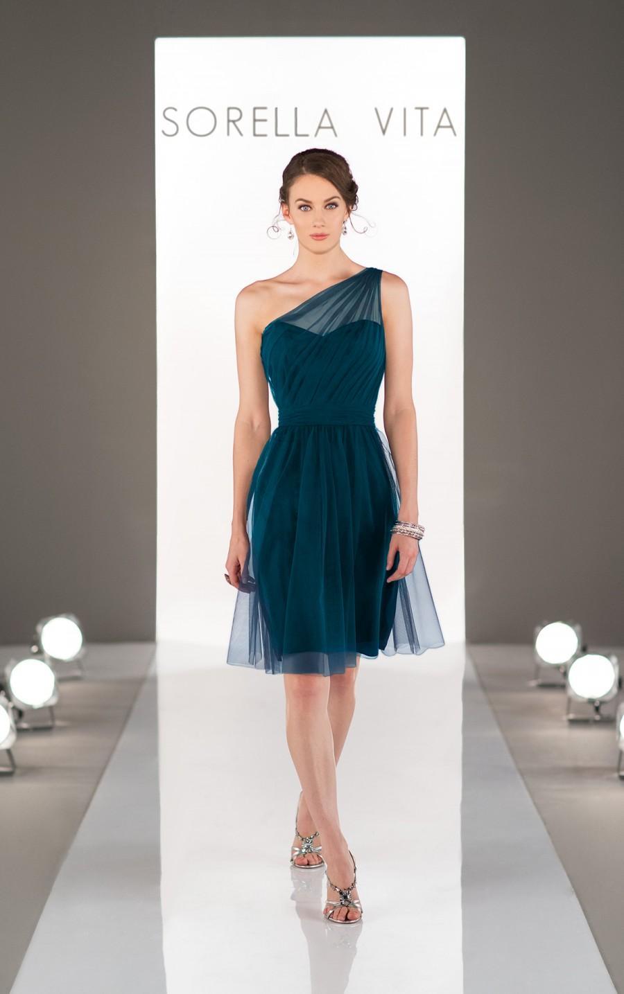 زفاف - Sorella Vita Romantic Bridesmaid Dress Style 8673