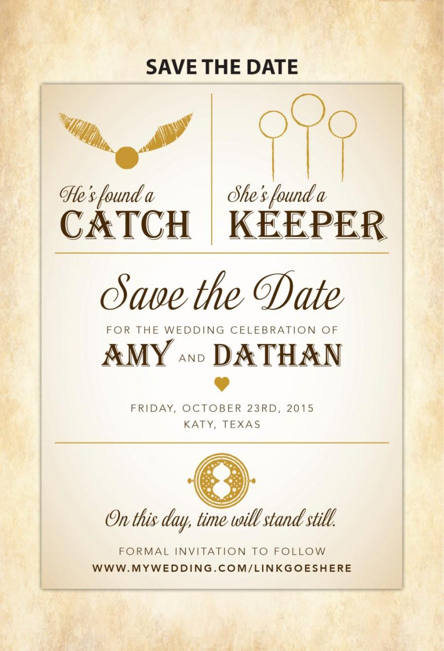 photo about Printable Harry Potter Invitations known as Harry Potter Help you save The Day - Do it yourself Printable #2447157 - Weddbook