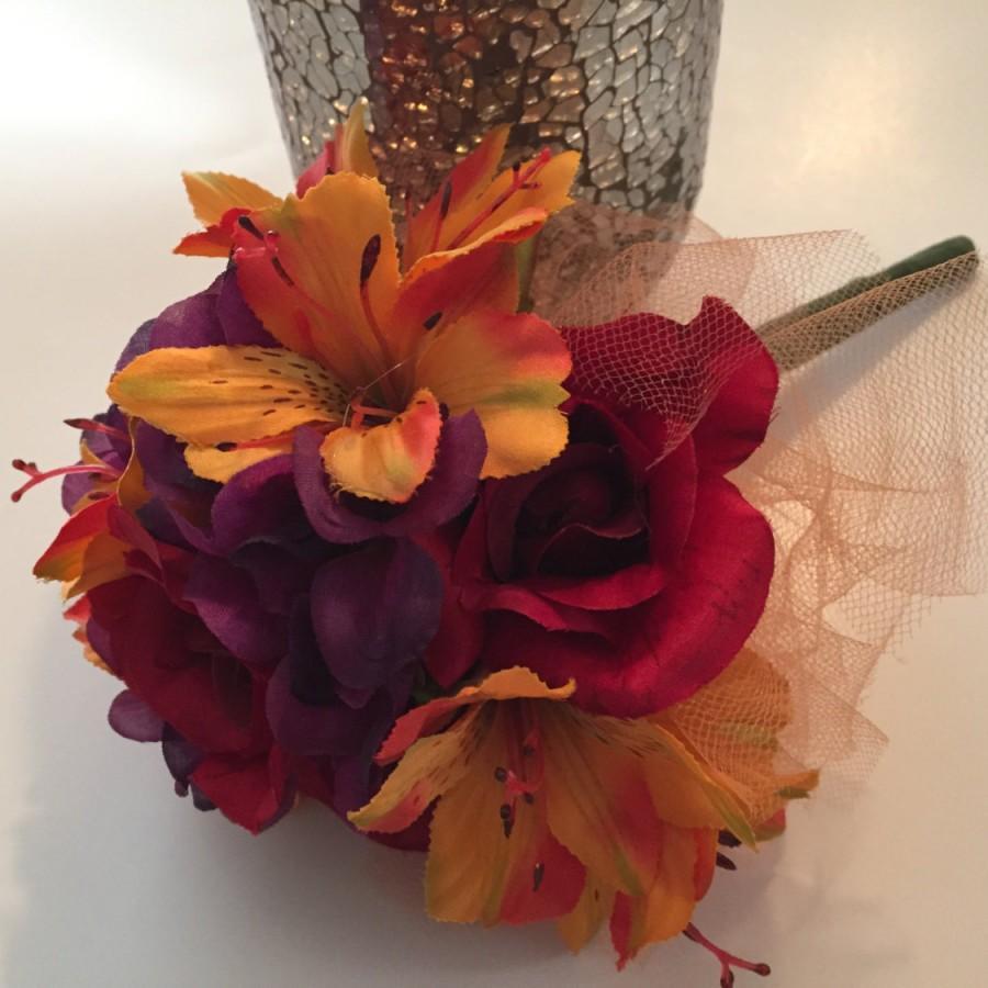 Mariage - Toss Bouquet, Throw Away Bouquet, Reception Bouquet, Bride's Toss Bouquet, Wedding