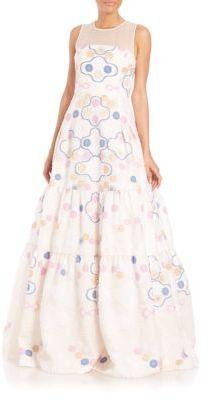 Wedding - Peter Pilotto Phaidra Embroidered Gown