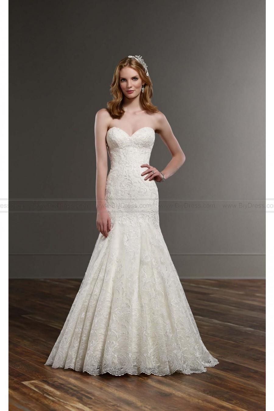 Wedding - Martina Liana Designer Wedding Gown Style 751