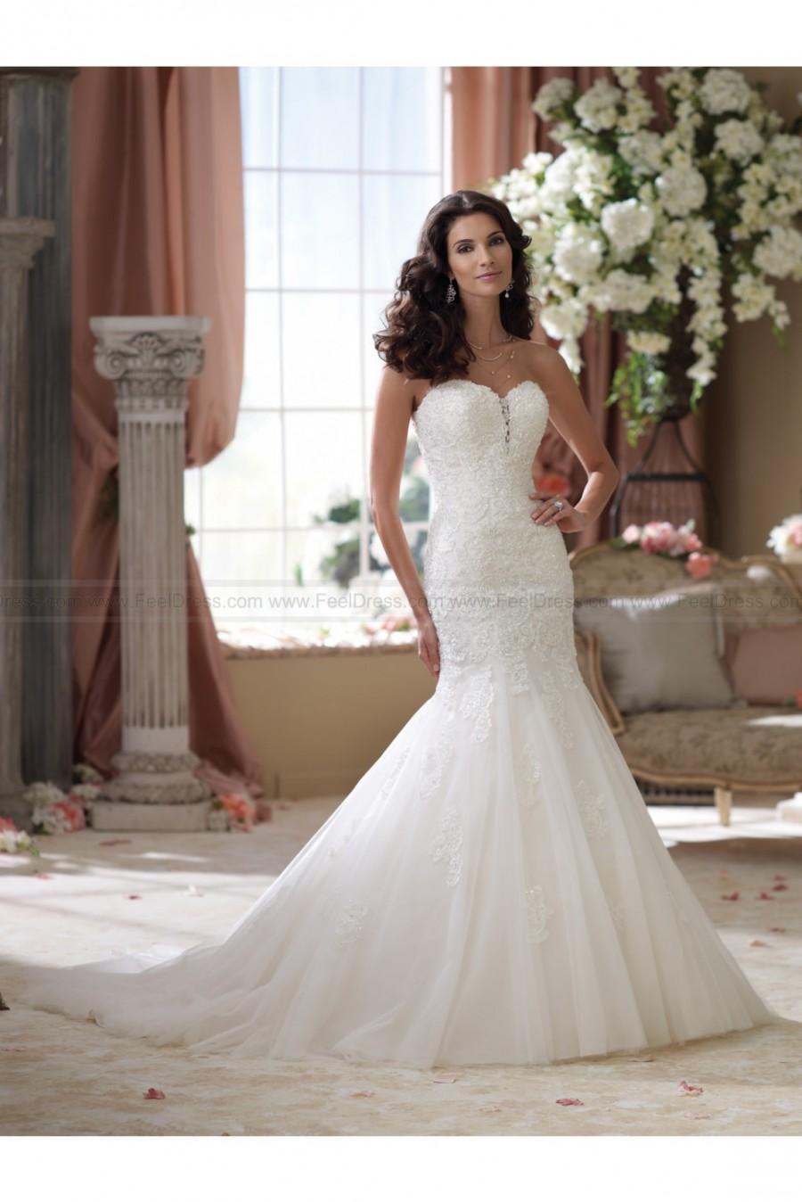 Wedding - David Tutera For Mon Cheri 114293–Beryl Wedding Dress