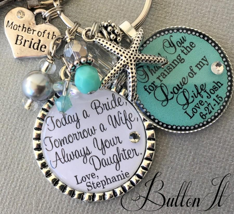Bridesmaid Gifts Beach Wedding: BEACH Wedding, MOTHER Of The Bride Gift Personalized