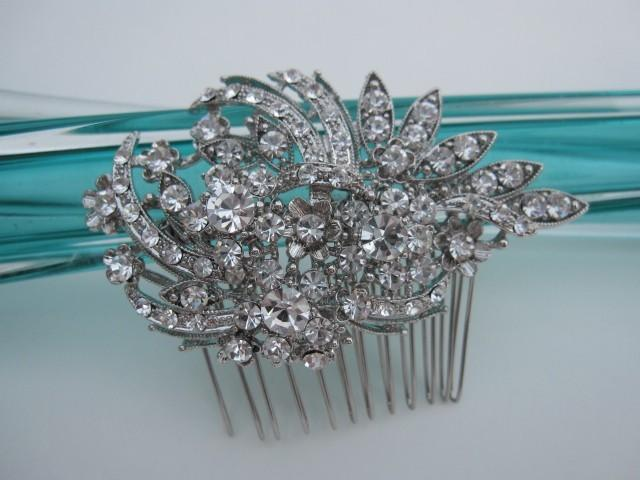 Mariage - Wedding hair comb Headpiece Bridal hair comb hair accessory Wedding hair comb hair jewelry Bridal hair comb hairpiece Wedding comb vintage