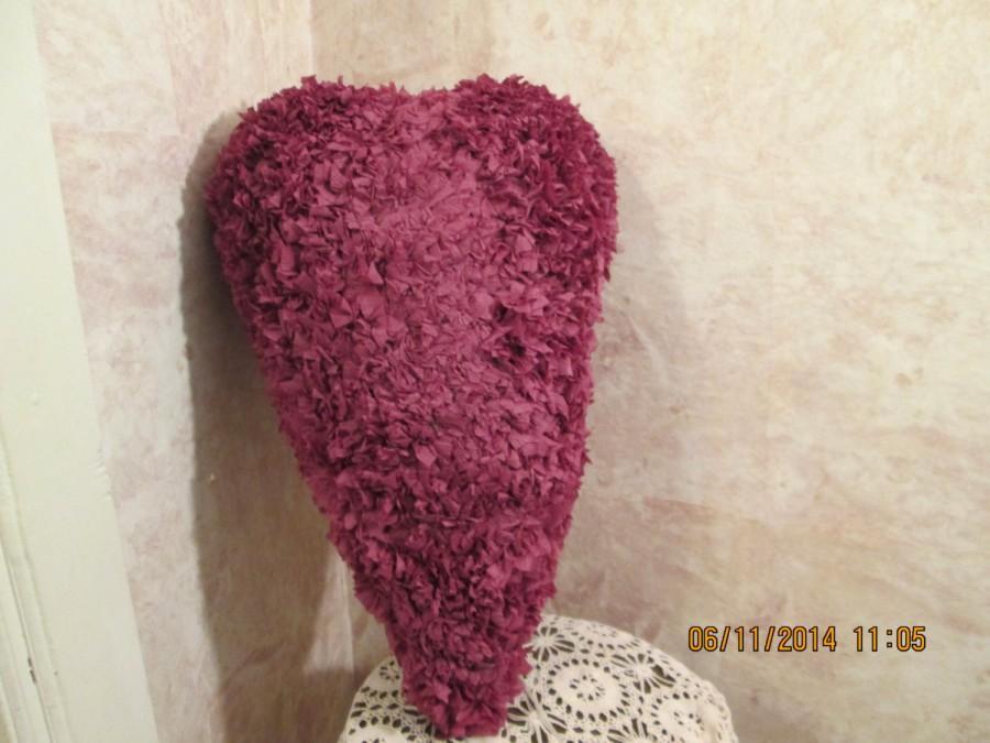 Mariage - Burgundy heart pinata - Wedding Pinata - Anniversary Pinata - Valentine'sDay Pinata