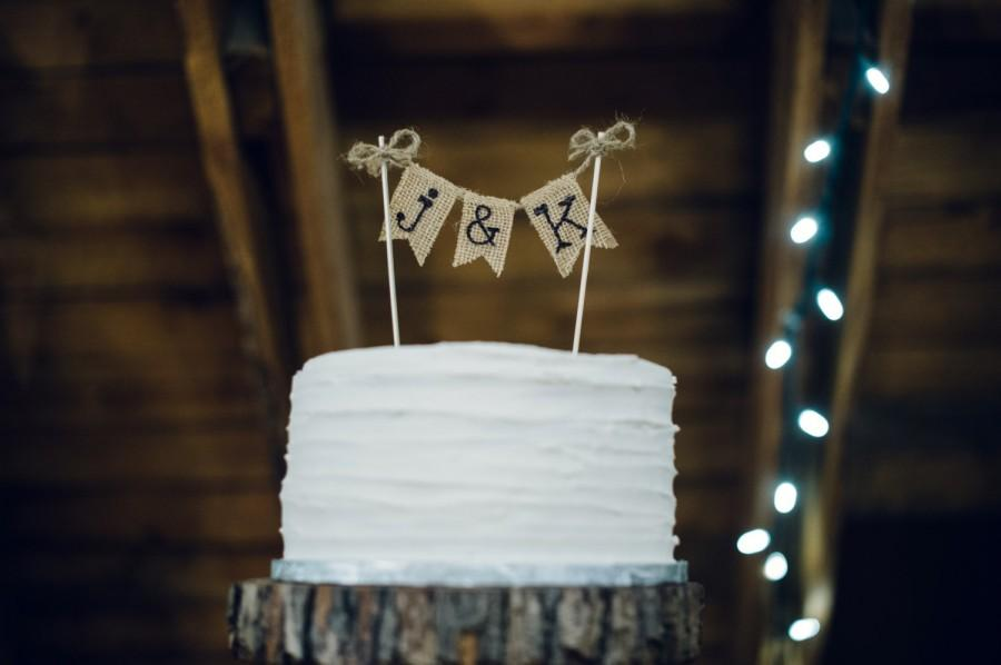 Personalized Cake Topper, Rustic Country Barn Wedding Cake Topper ...