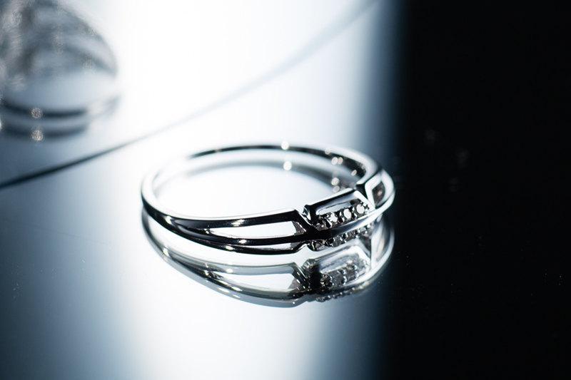 Geometric Jewelry Alternative Engagement Ring Couples