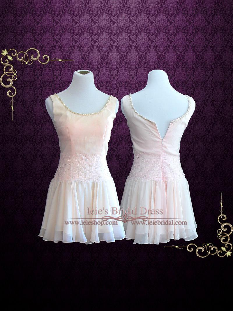 Dirty Dancing Pink Chiffon Dance Dress