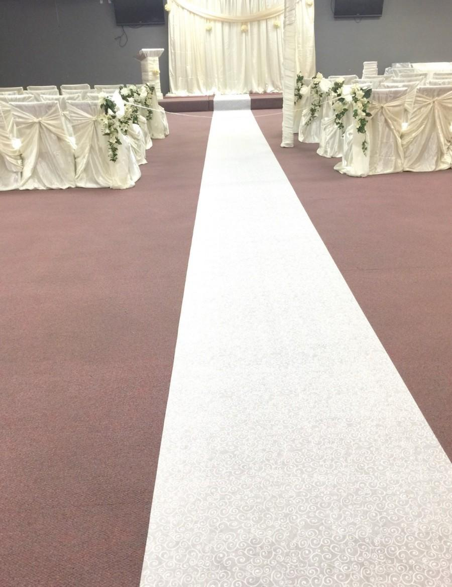 Mariage - French Lace Aisle Runner