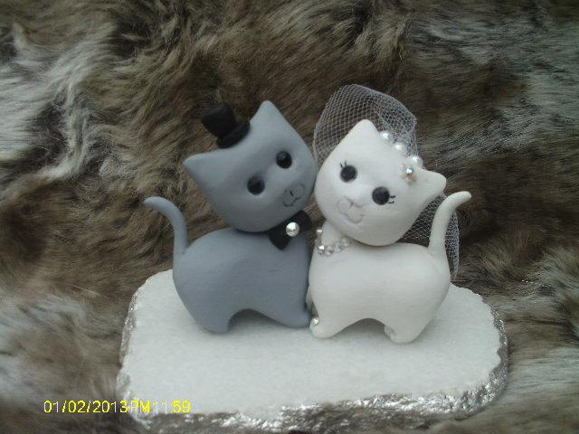 Dekor cat wedding cake topper 2448636 weddbook cat wedding cake topper junglespirit Images