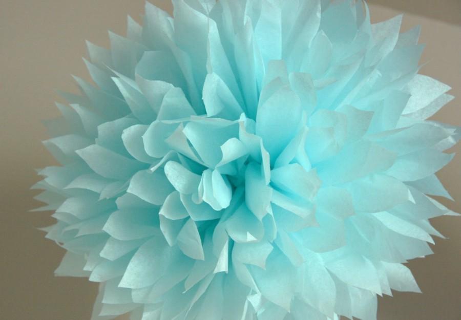Wedding - Light blue - one pom