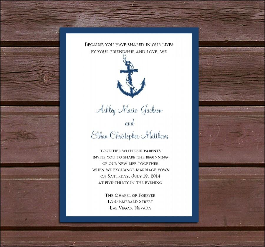 100 nautical beach wedding invitations rsvp39s reception With nautical wedding invitations online