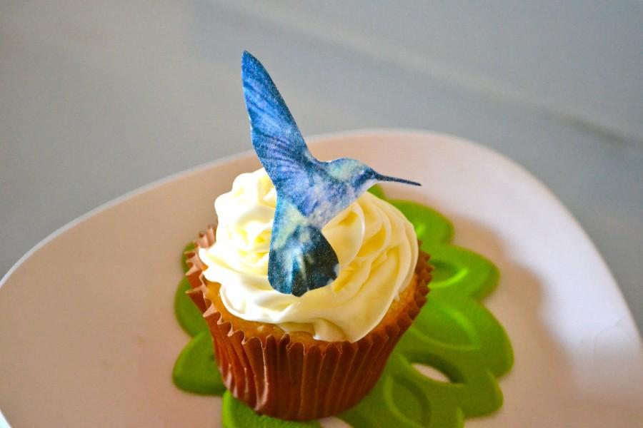 Cake Toppers And Accessories : Wedding Cake Topper The Original EDIBLE Hummingbirds ...