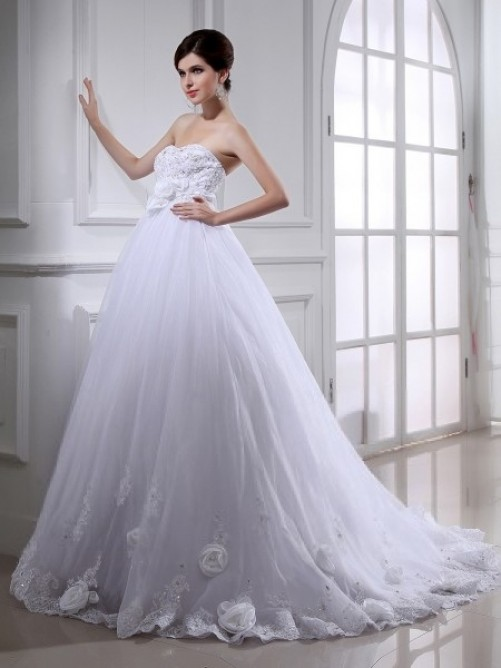 Wedding - classic a line wedding dress