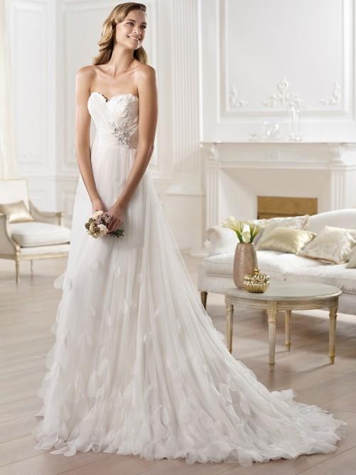 Свадьба - Charming a line wedding dress